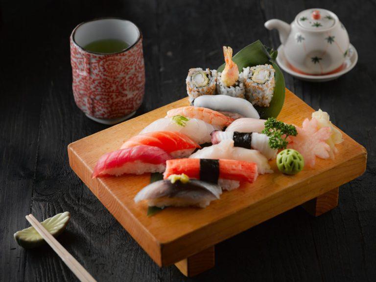 April 2021 Prompt: Sushi